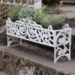 Jardiniere - Hvit patina